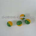 "high quality 0.68"" caliber field grade paintball balls bullet in paintball gun from factory"