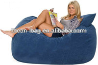 Top Quality Living Room Furniture Bean Bag Round Foam Filling Sofa Bed Or Chair