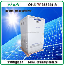 3-phase Output Solar power Inverter, Advanced IPM Module with High Reliability