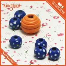 Craft wood beads for kids to make the jewellery