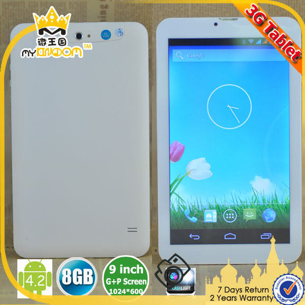 Cheapest 9inch smart pad android 4.2.2 tablet pc Built in Bluetooth GPS