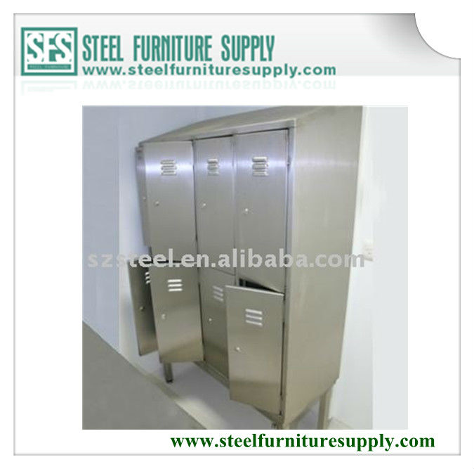 stainless steel corner locker
