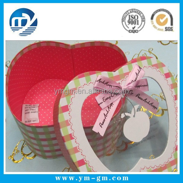 Personality gifts customized packing box,Apple Shaped Box