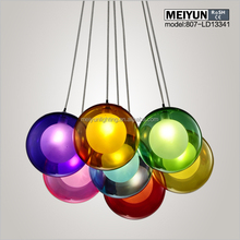 Glass Ball Pendant Light, Glass Light