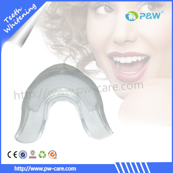 teeth whitening mouth tray, silicone mouthguard in teeth whitening