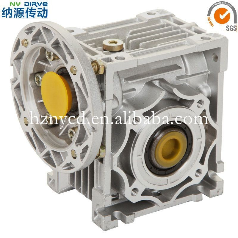 NMRV Series Right Angle Transmission Gearbox for Engine,Small Chinese Worm Gearboxes