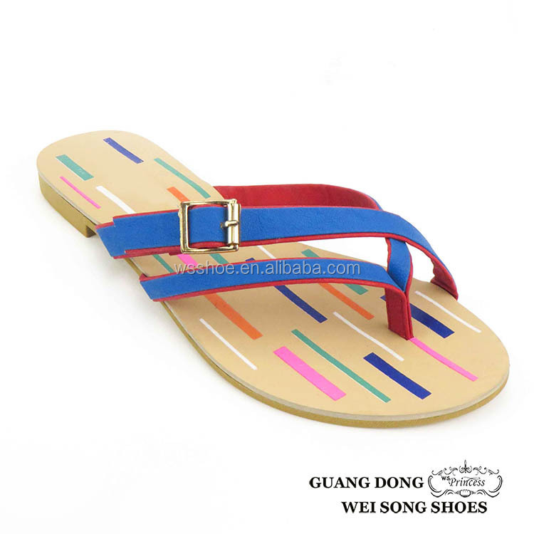 Hot sale TPR sole flip flop new upper design relaxo flite slippers