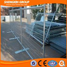2016 high quality low price galvanized Canada type modular metal temporary fence