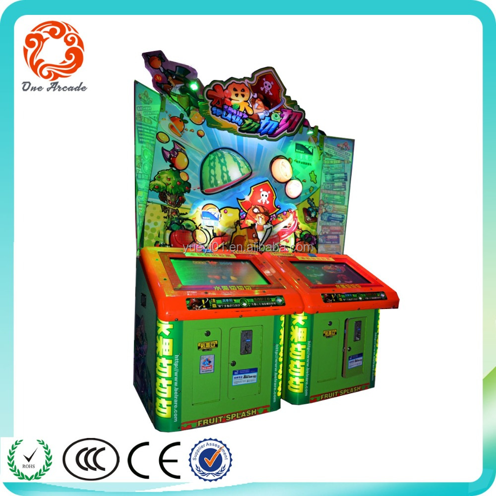 Redemption /amusement game /coin operated machine cut fruit for sale