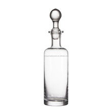 new European 250ml clear terrarium glass wine/beverage Flagon bottle for supermarket table wedding centerpieces Kitchenware