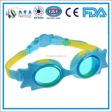 One-piece swimming goggles,kids swimming glass , Kids cartoon swim goggles