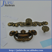 Factory Direct Sale Zinc Alloy Porcelain Antique Furniture Handle