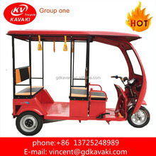 Popular 3 Wheels Tricycle/Rickshaw Electric Trike Scooter For Use And Power 800 W Passenger For Sale