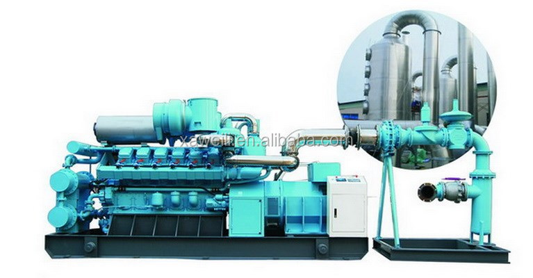 2015 new product 114kw biogas /natural gas generator set open type for sale