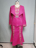 embroidery designs name brand for women church suits