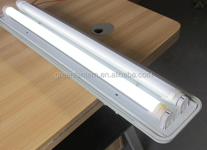 Emergency 4ft 36W LED Tube T8 waterproof fluorescent light fixture
