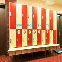 HPL compact laminate locker; high pressure laminate; phenolic board
