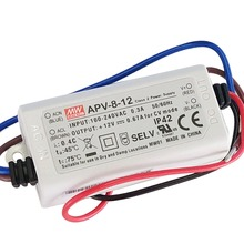 MEAN WELL POWER SUPPLY APV-8E-12 single output 12V led driver 6w