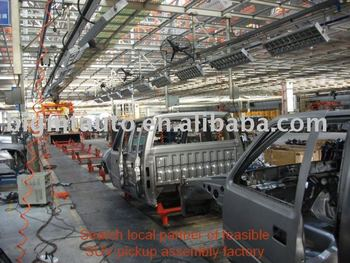 4x4 drive diesel Pickup/SUV Assembly Line