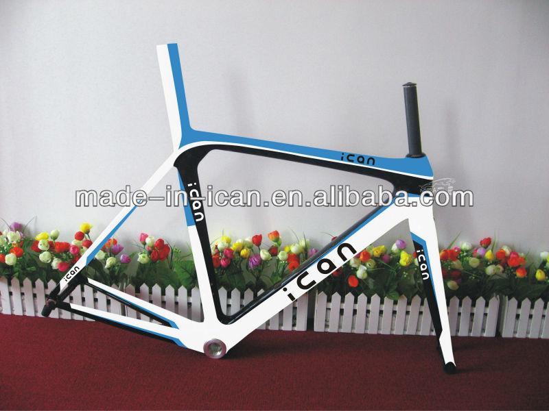 Full AERO Carbon bicylce frame Toray T700 Road Racing Bike Frame set
