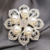 Wholesale Handmade Boutonniere Stick Flower Artificial Pearl Brooch Pins