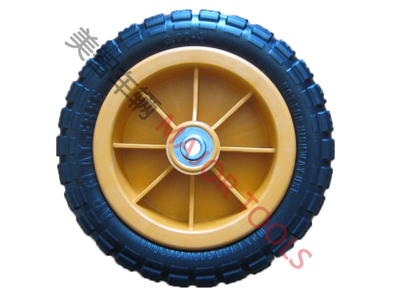 trolley wheelbarrow pu foam rubber wheel 3.00-6