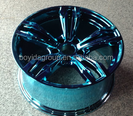 18inch Blue alloy wheel rim for sale , 5x120 car wheel rims made in china with different kinds,