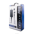 Universal laptop charger power supply 65w with USB port charger and 13/14 pins