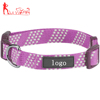 Hot-sale Smooth Padding Nylon Dog Collar,with Sturdy Stainless Metal D-ring