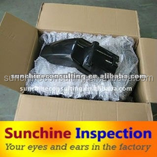 Professional inspection and quality control for moto-spare parts/quality check service in shenzhen/Guangzhou
