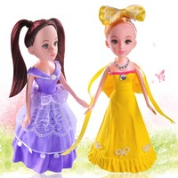 Baby gift educational diy hand made clay princess doll crafts for kids