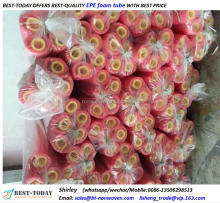 Soft round EPE foam tube for children's playgrounds