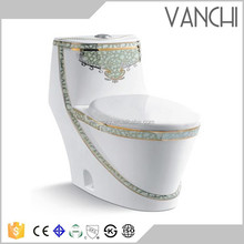 China portable chemical one piece toilets for sale