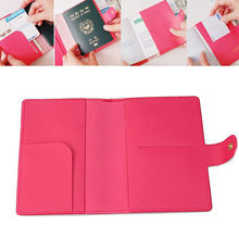 Good Fashion E-Passport Protect Cover Passport Case Holder