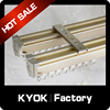 KYOK new aluminum alloy curtain tracks,hotsale curtain tracks,home decorative curtain tracks