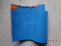 2014 Blue color clay spanish roof tiles