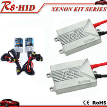 China Factory R8 Brand HID kit headlight ultra-slim ballast single beam xenon lamp h1 h3 h4-1 h7 h11 9005 9006 880