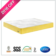 Memory Foam Pillow Top Pocket Spring Mattress Single