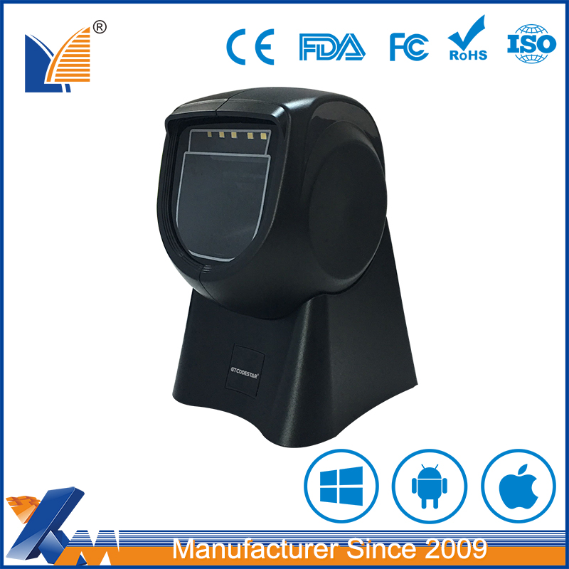 China Omni-Directional/multi-directional Barcode Scanner/flatbed qr code scanner barcode reader pdf417