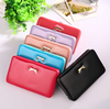 Hot Selling Multifunctions PU Leather Metal Frame Wallet Women/Phone Wallets/Lady Clutch Wallet