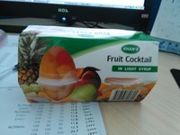 top quality best price canned fruit canned assorted fruits the plastic cup fruits