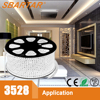 CE RoHS PSE Approved 100M/Roll 3528 led ropelight strip light theatre