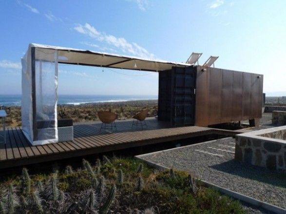 Prefab Shipping Container Beach House Holiday Cabin