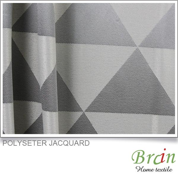 real-made customized polyester crewel fabric curtains