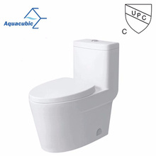 High Quality UPC One Piece Toilet,S-Trap Ceramic Toilet(ACT9328)