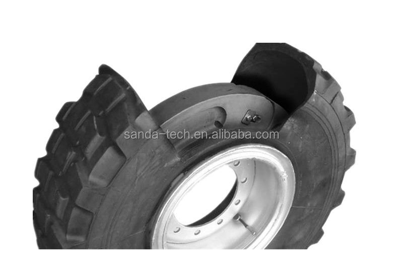 run flat insert for armored vehicle