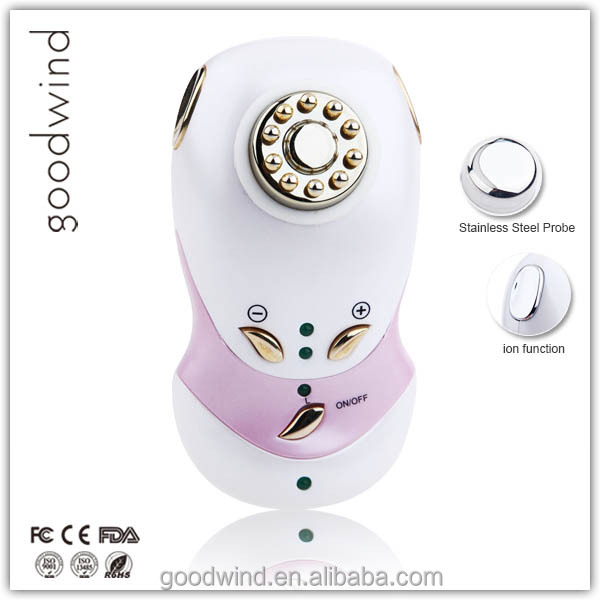 Home Use Facial Massage galvanic and high frequency beauty machine