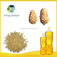 Machine Pressed Korean Pine Nut Oil Price