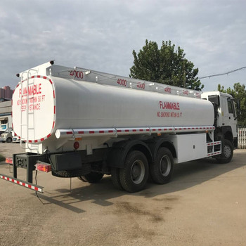 SINOTRUK HOWO 20 CBM 10 wheel Oil Fuel Tanker Truck for Sale
