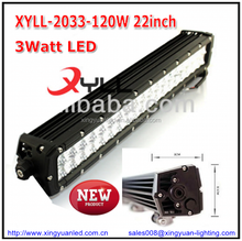 2016 New and top sale wholesale 120W LED Light bar for 4X4 offroad truck vehicle roof lightbar